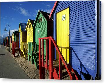 South Africa, Cape Town, Brightly Canvas Print by Paul Souders