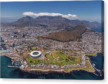 South Africa - Cape Town Canvas Print by Michael Jurek