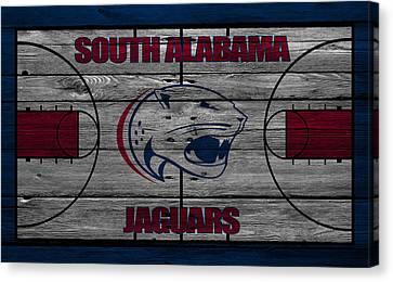 South Alabama Jaguars Canvas Print by Joe Hamilton
