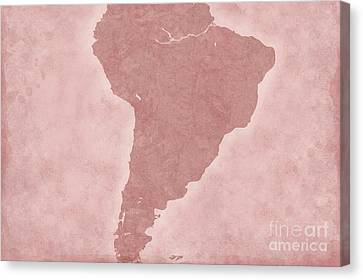 South America Canvas Print by Tina M Wenger