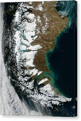 South American Winter Canvas Print