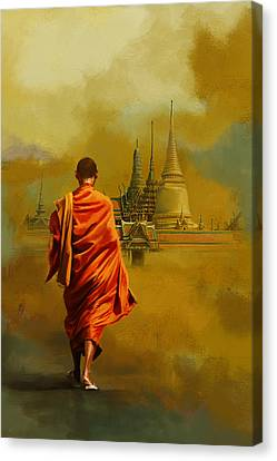 Dubai Gallery Canvas Print - South Asia Art  by Corporate Art Task Force