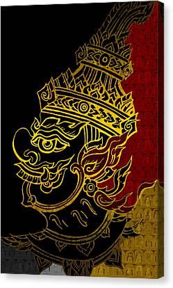 Dubai Gallery Canvas Print - South Asian Art Motives by Corporate Art Task Force