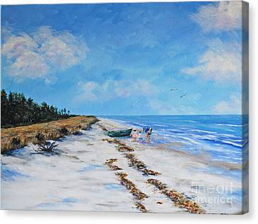 South Beach  Hilton Head Island Canvas Print
