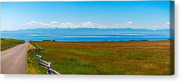 Canvas Print featuring the photograph South Beach San Juan Island  by Ken Stanback