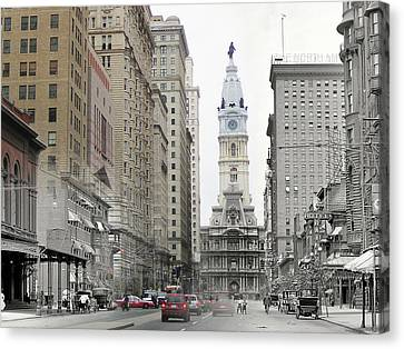 South Broad Street Canvas Print