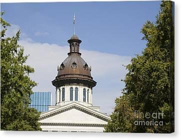 South Caroilna Capital Building Detail Canvas Print