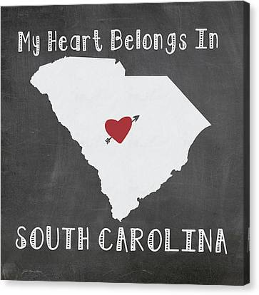 South Carolina Canvas Print