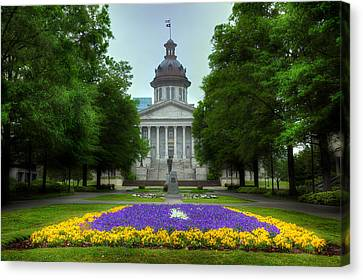 South Carolina State House Canvas Print by Michael Eingle