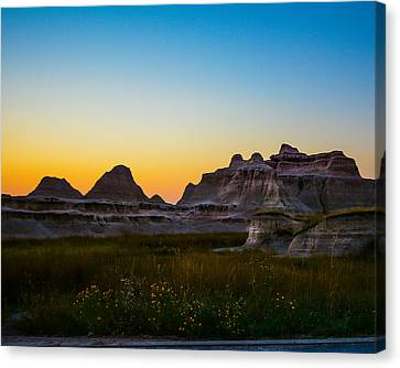 South Dakota Sunrise Canvas Print by Robin Williams