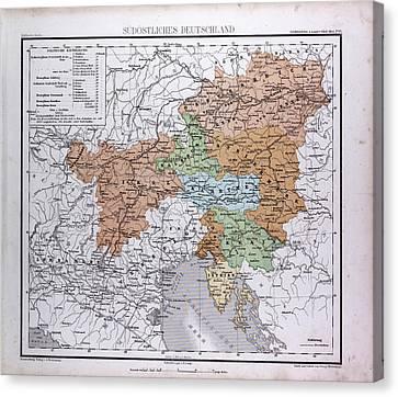 South East Germany, Sudostliches Deutschland Canvas Print