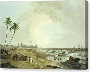 South East View Of Fort St. George Canvas Print