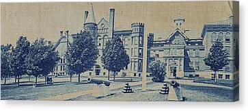 South Hall, Administration Building And North Hall Canvas Print