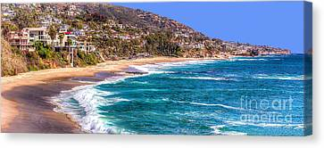 South Laguna Beach Coast Canvas Print