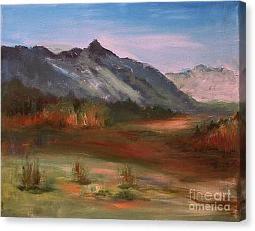 South Mountain  Canvas Print by Julie Lueders