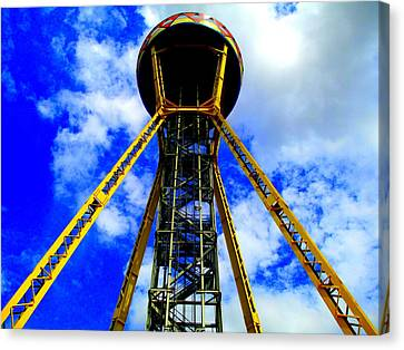 South Of The Border Observation Tower Canvas Print by Randall Weidner