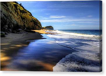 South Pacific Shores Canvas Print by Peter Mooyman