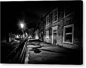 South Queensferry Main Street Canvas Print