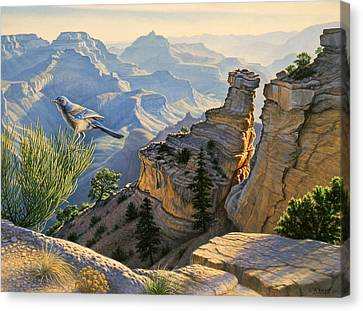 South Rim Morning Canvas Print