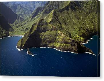 South Shore Molokai 1 Canvas Print