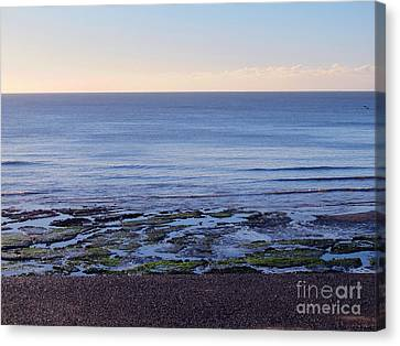 South Uk Seaside Canvas Print by Art Photography