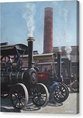 Southampton Bursledon Brickworks Open Day Canvas Print by Martin Davey