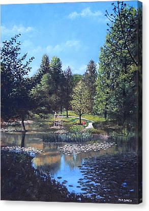Southampton Hillier Gardens Late Summer Canvas Print by Martin Davey