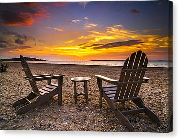 Southampton Shores View For 2 Canvas Print by Ryan Moore
