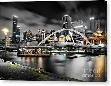 Southbank Footbridge Canvas Print