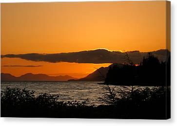 Southeast Alaska Sunset Canvas Print