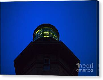 Block Island Canvas Print - Southeast Lighthouse On Block Island  by Diane Diederich