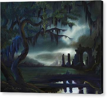 Southern Arch Canvas Print by James Christopher Hill