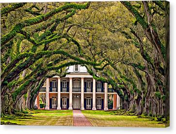 Southern Class Oil Canvas Print by Steve Harrington