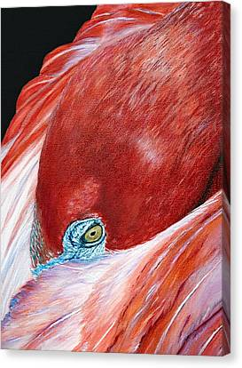 Southern Comfort Flamingo Canvas Print