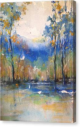 Southern Comfort Canvas Print by Robin Miller-Bookhout