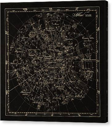 Southern Constellations, 1829 Canvas Print by Science Photo Library