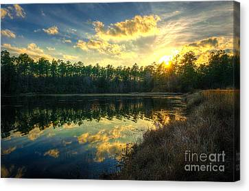 Southern Creek Canvas Print