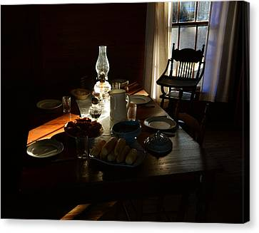 Southern Dinning Canvas Print by David Lee Thompson