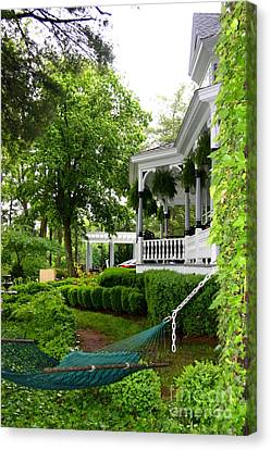 Southern Hospitality Canvas Print by Patti Whitten