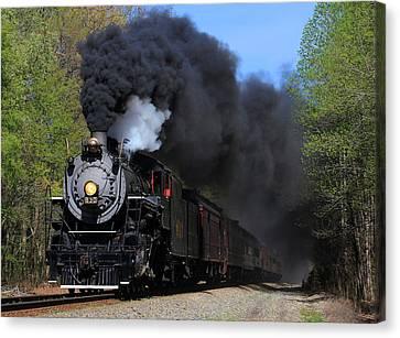 Southern Railway Steam Engine #630 Canvas Print
