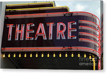 Southern Theatre Canvas Print by Julie Penney