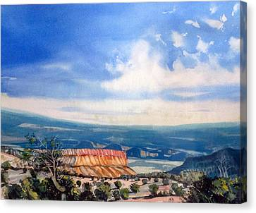 Southern Utah Panorama Canvas Print by Matthew Chatterley