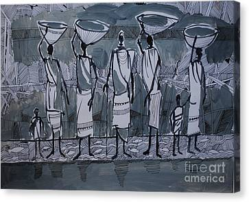 Canvas Print - Southern Women by Mohamed Fadul
