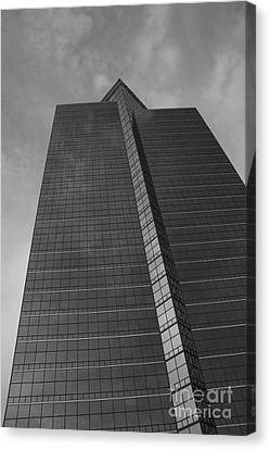 Southfield Hi Rise Black And White Canvas Print by Bill Woodstock