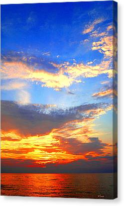 Southhaven Sky Canvas Print