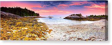Southport  Maine Canvas Print by Emmanuel Panagiotakis