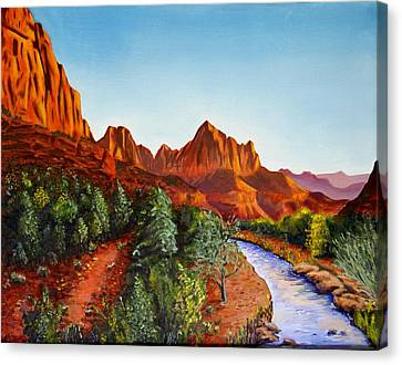 Southwest Afternoon Canvas Print