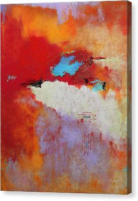 Southwest Color Burst Canvas Print by M Diane Bonaparte