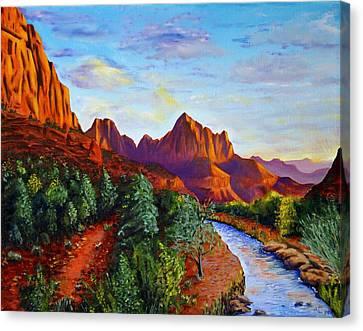 Southwest Evening Canvas Print