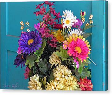 Southwest Flowers Canvas Print